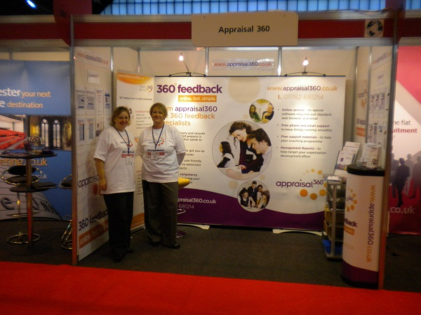 CIPD Annual Conference 2009 - Lynda Holt and Julie Hickton on the stand 360 feedback