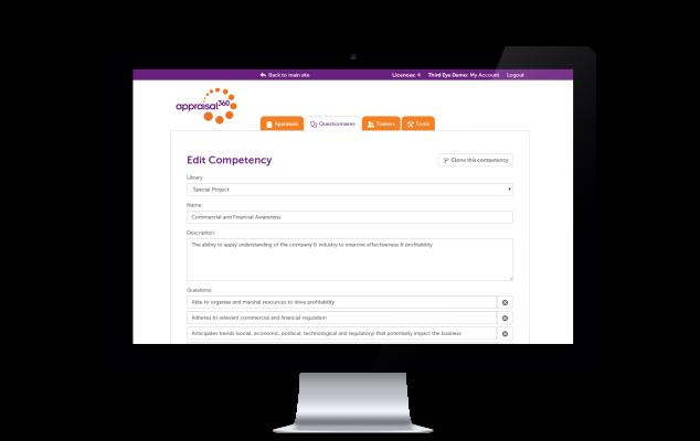 Design your own questionnaires